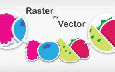 Raster vs vettoriale: immagini digitali a confronto