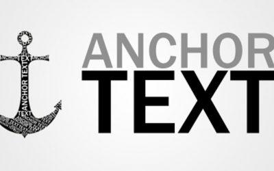 Cos'è l'Anchor Text e perchè è importante per la SEO