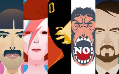 5 celebrità che potevano diventare graphic designer