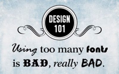 12 classici errori da graphic designer