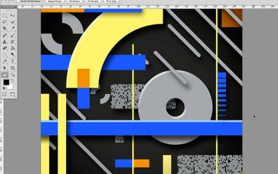 Come aggiungere una texture a file vettoriali via Photoshop