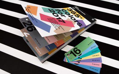 Fantastici calendari per il 2017 in graphic design