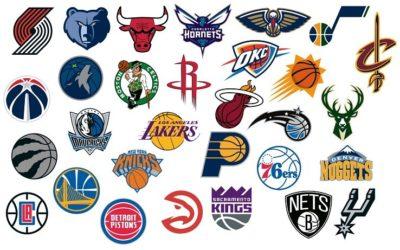 Le grafiche dei loghi di basket più belli