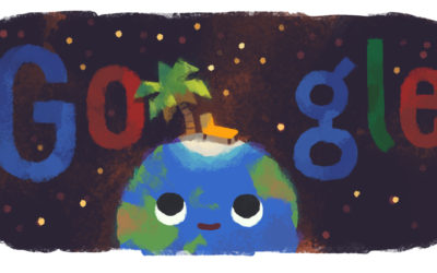Il doodle di Google per il primo giorno d'estate